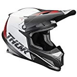 Thor MX Sector Blade Motocross Helm 2020 charcoal weiss